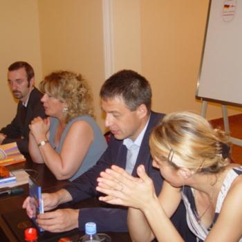 Dictionary presentation, Batumi, 2006