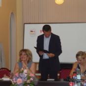 Knut Gerber, Dictionary presentation, Batumi, 2006