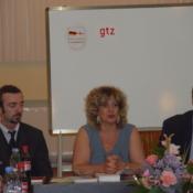 Knut Gerber and Zviadi Eliziani, Dictionary presentation, Batumi, 2006,