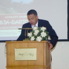 Knut Gerber,Presentation dictionary-Tbilisi, 2006