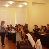 Lesson in Tourism princeples,Intervew, Dictionary presentation, Batumi, 2006.,