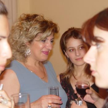 Sudents,Dictionary presentation, Batumi, 2006